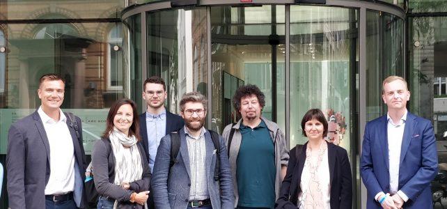 Arbeitstreffen und Gruppendiskussion: JF:TEC am HBI und bei Google